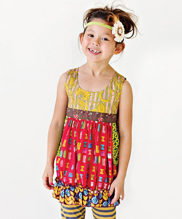 Look at this Matilda Jane Clothing Jester Red Shasta Bubble Top - Infant, Toddler on Zulily today!