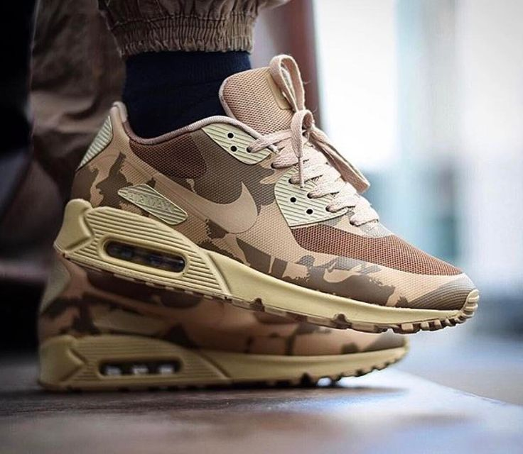 Buy Popular Nike Air Max 90 HYPFUSE SP Camo Mens Shoes Beige Green HCvSNSxK