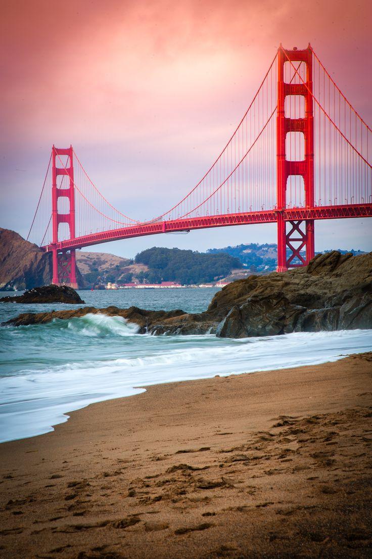 Leather Accent Tag - Golden Gate Bridge by VIDA VIDA jozvfpDyB