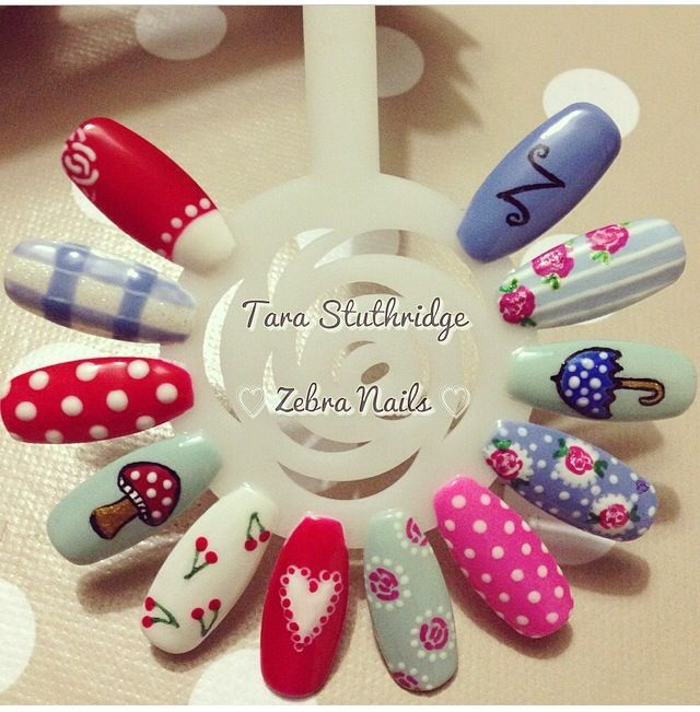 Nail Arts By Rozemist Cath Kidston Vintage Inspired: Best 25+ Shabby Chic Nails Ideas Only On Pinterest