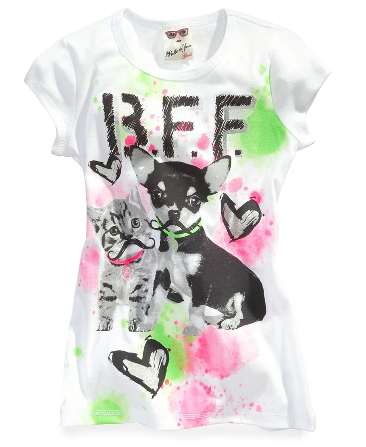 Du Jour Kids T Shirts, Girls Graphic Tees   Kids Girls 7 16