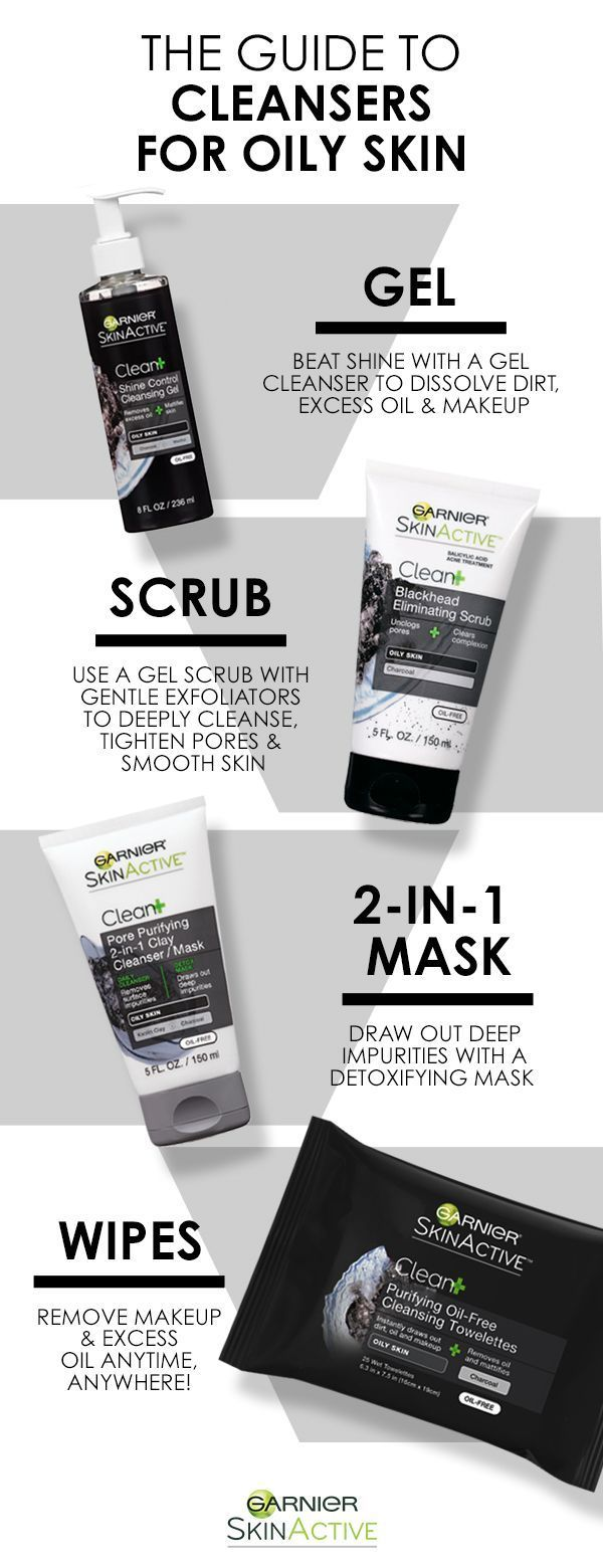 The ultimate guide to cleansers for oily skin. Gar…