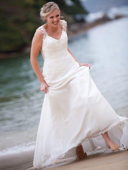 73 besten Beach Wedding Dresses Bilder auf Pinterest ...