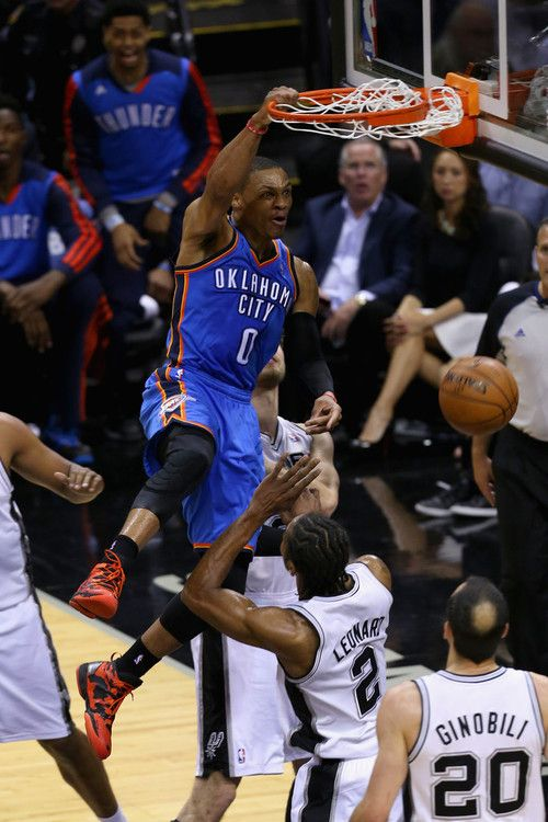 WESTBROOK MADNESS !! Would not want to guard him !!! A burst of super energy all ways !! RAY T NYC