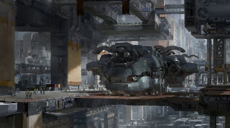 I Want an Entire Coffee Table Book Made From This Video Game Artist's Amazing Paintings – Zukunft/SciFi/Futuristisch
