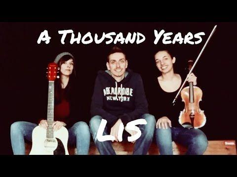 LiS - A Thousand Years - Cover - Ukulele Alex&Paul feat. Marianna - YouTube