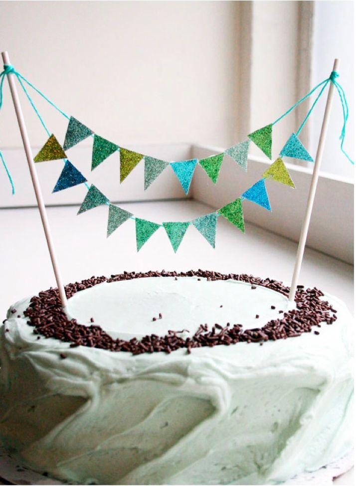 27 best Banner Cake Toppers images on Pinterest Banner cake