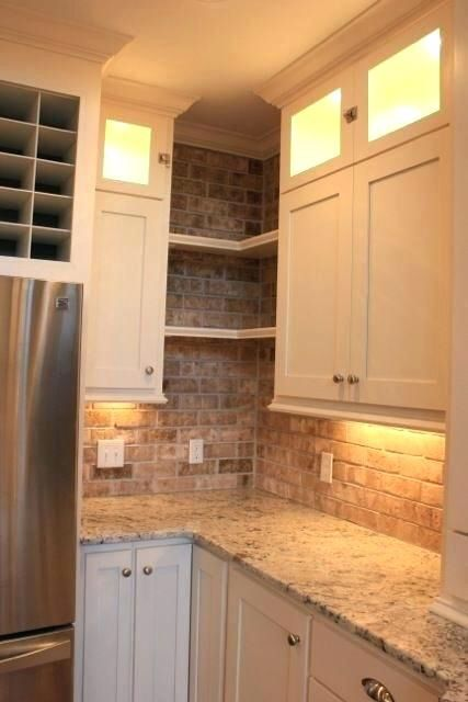 Upper Corner Kitchen Cabinet Ideas - Wow Blog (With images ...
