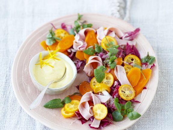 Fruchtiger Radicchiosalat ist ein Rezept mit frischen Zutaten aus der Kategorie Dips. Probieren Sie dieses und weitere Rezepte von EAT SMARTER!