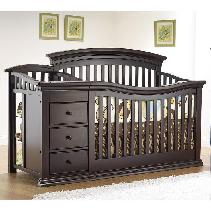 Top 25 ideas about crib with changing table on pinterest Baby crib with changing table