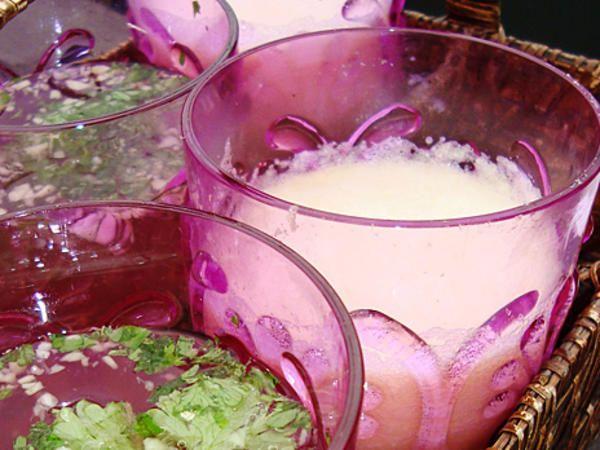 Ingefärsdrink med ananasjuice