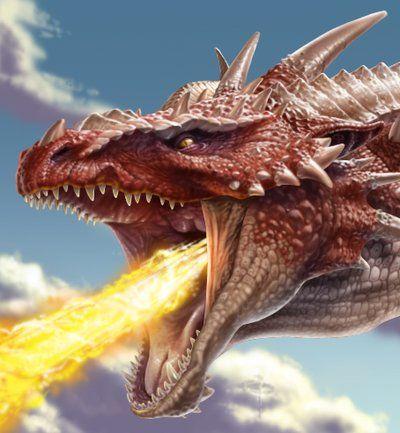 Dragon's Head by ChrisRa.deviantart.com on @DeviantArt