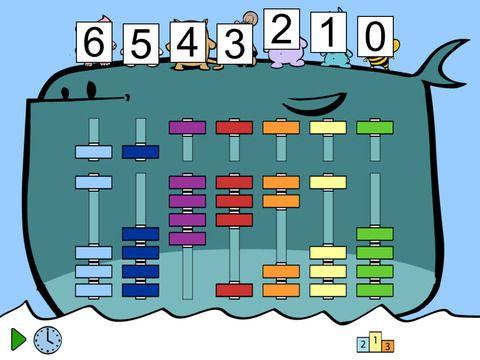 Soroban The Whale - Abacus Math