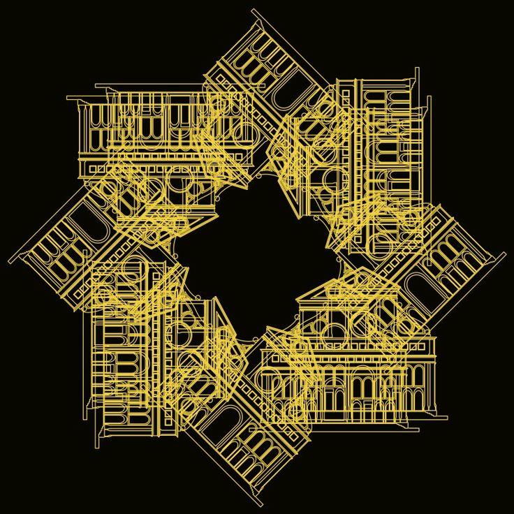 """"""" Architetture sedimentate - Sedimented architectures """"  www.gigarte.com/lucianocaggianello"""