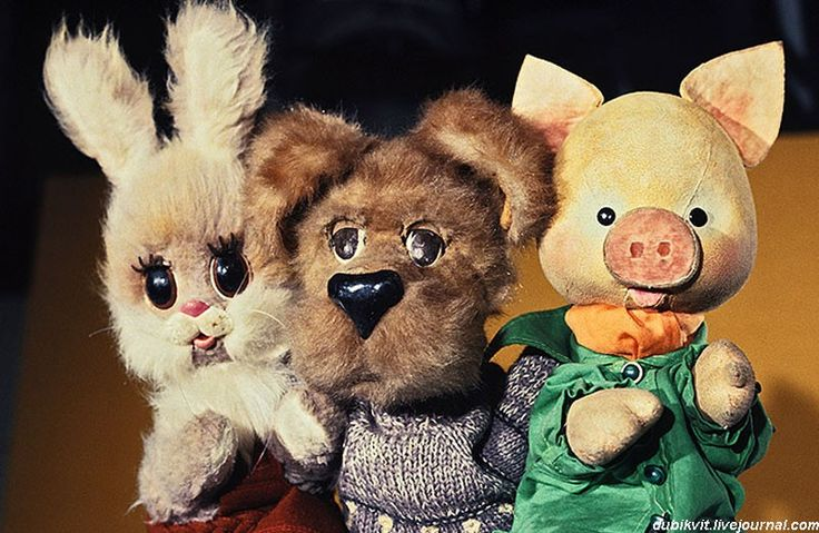 передача «Спокойной ночи, малыши!» Every child in Soviet Russia knew that in the evening you each cartoons with these guys