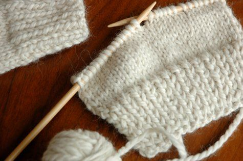 Knitting party - instructions for easy fingerless gloves, recipes for chai and cookies.