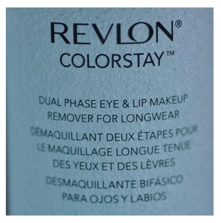 REVLON COLORSTAY DUAL PHASE EYE & LIP MAKEUP REMOVER FOR LONGWEAR ahora en Colombia. #REVLON, #Makeup, #REVLONColombia
