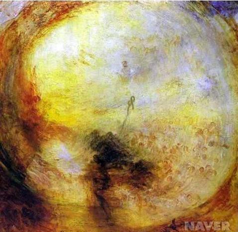 빛과 색채 : 노아의 대홍수 이후의 아침, 창세기를 쓰는 모세 (Light and Color (Goethe's Theory) : The Morning after the Deluge, Moses Writing the Book of Genesis)조지프 말로드 윌리엄 터너(Joseph Mallord William Turner)
