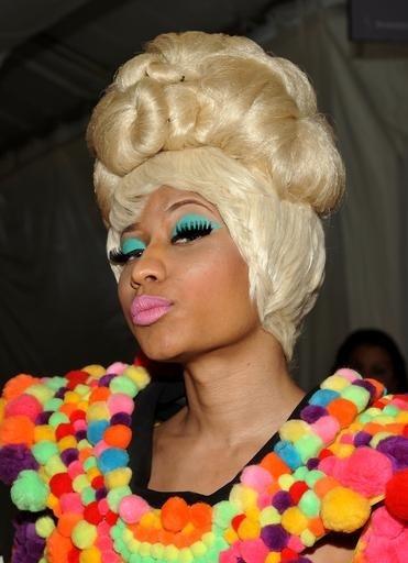 Nicki Minaj Makeup!  Or getting ready for the Hunger Games