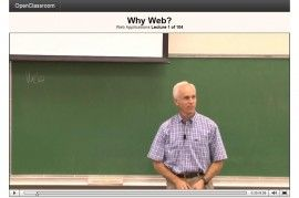 Openclassroom short free classes by Stanford University -