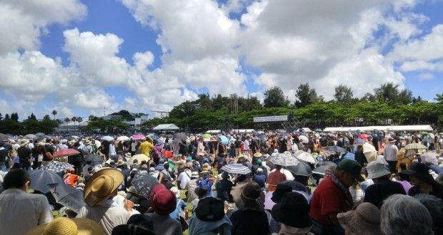 يابانيون يحتجون في الشارع ويطالبون برحيل الجيوش الامريكية على اليابان – صيحة بريس