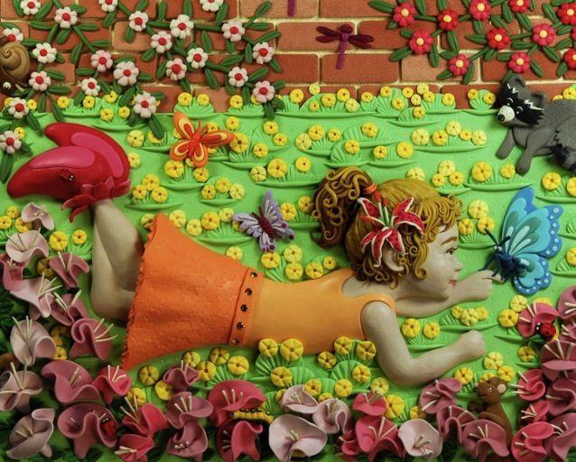 Иллюстрации из пластилина,а также пластилиновый календарь на май. Обсуждение на LiveInternet - Российский Сервис Онлайн-Дневников