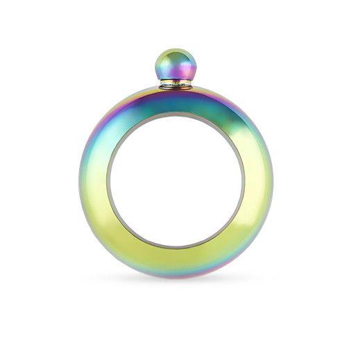Rainbow Bracelet Flask