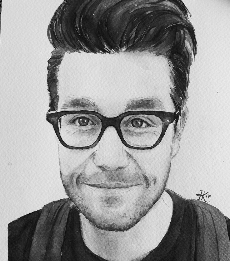 """149 Likes, 6 Comments - I R I N A  K. (@irenesillustrations) on Instagram: """"Everything looks better in black and white somehow  bastille #bastilledan dan smith  #waterblog…"""""""