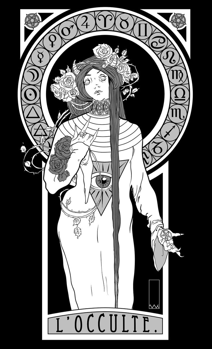 Illustration by knuk (with apologies to Alphonse Mucha)