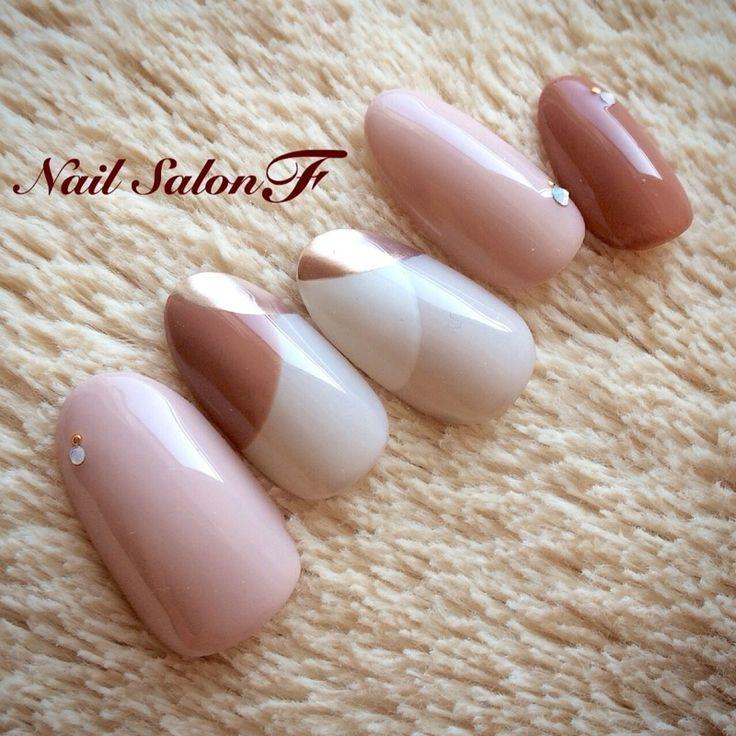 autumn winter pink white brown