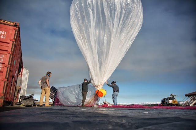 Google Ambitious Balloon-Powered Internet Project