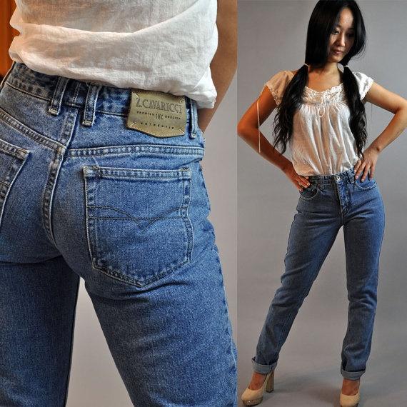 Cavaricci Z Skinny Jeans | ... jeans / distressed Z CAVARICCI denim jeans skinny jeans w/ taper legs