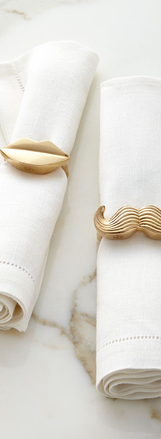 Mr. & Mrs. Napkin Rings