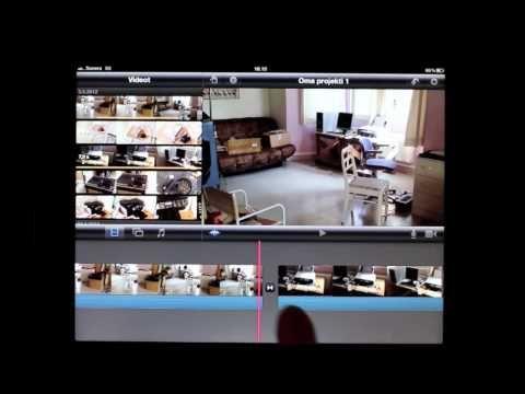 iMovie iPadilla -opasvideo