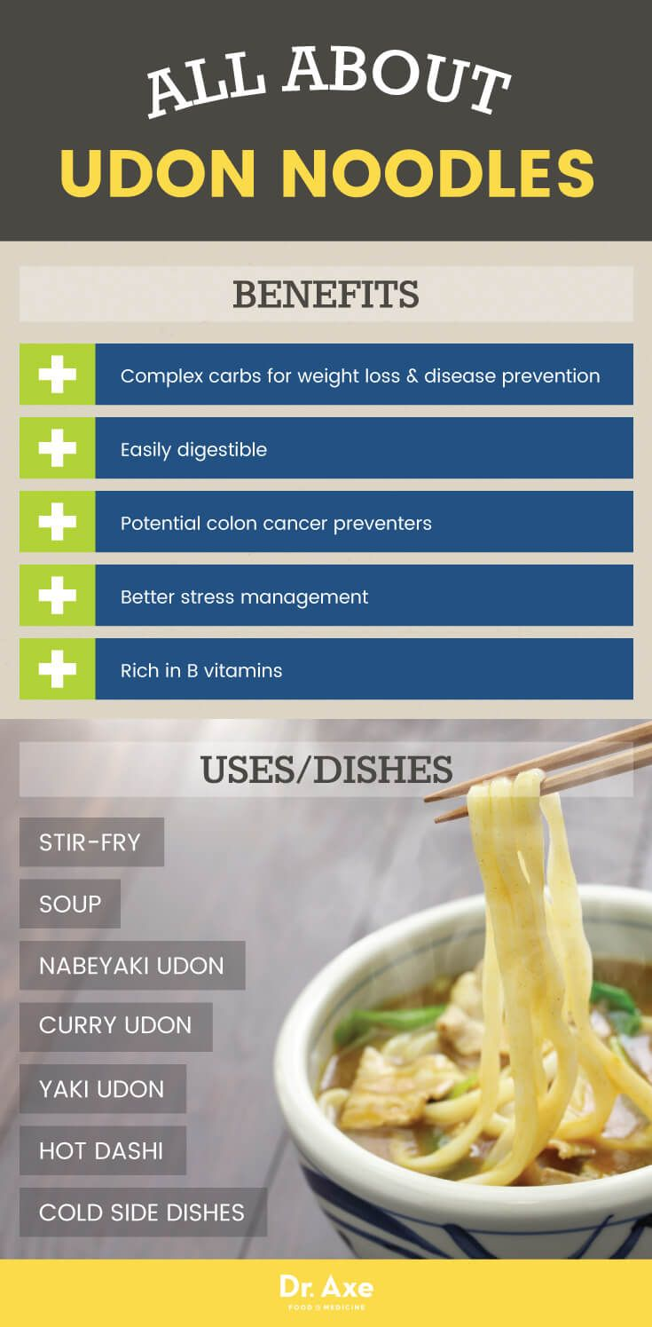 Udon noodle benefits and uses - Dr. Axe