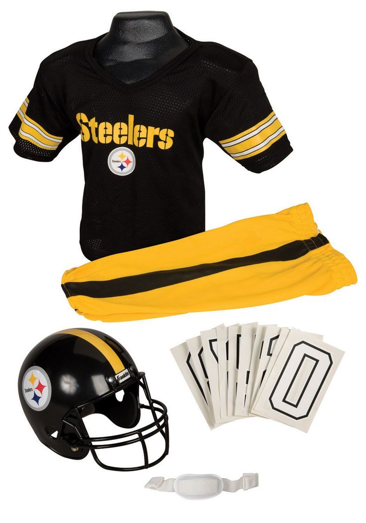 NFL Steelers Uniform Costume