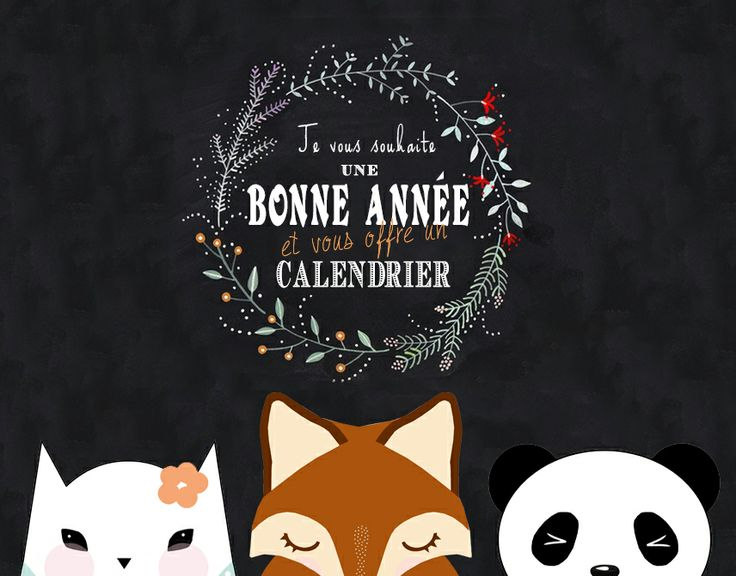 Calendrier 2014 - printable