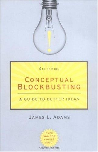 Conceptual BlockbustingJames Of Arci, Better Ideas, Fourth Editing, Conceptual Blockbuster, Editing October, Editing Editing, Editing January, Basic Book, Book Ems