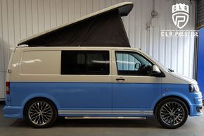 2011 61 vw transporter sportline kit facelift t5 t5.1 t6 4 berth pop top camper