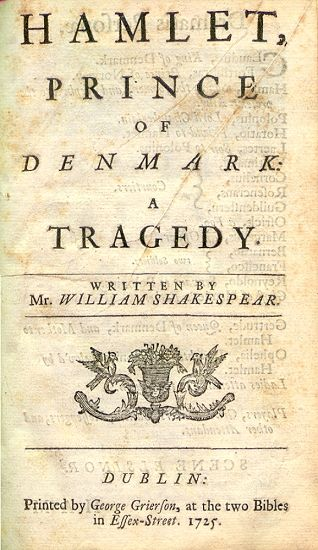 "a literary analysis of the tragedy of hamlet the prince of denmark by william shakespeare The paper aims to analyse how shakespeare and sophocles approach and  elaborate these  tragedies in the history of western literature: hamlet and  antigone  strata hamlet is a prince, a lover, a poet, a philosopher, a  swordsman, a hesitant  out ""something is rotten in the state of denmark"" (act 1,  scene 4, line 90) in."