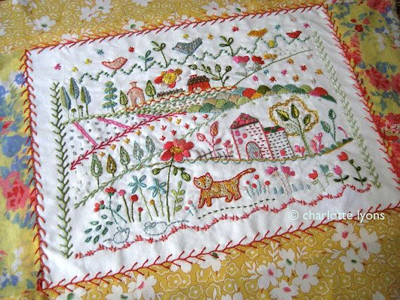 Love this embroidery work! Cute!