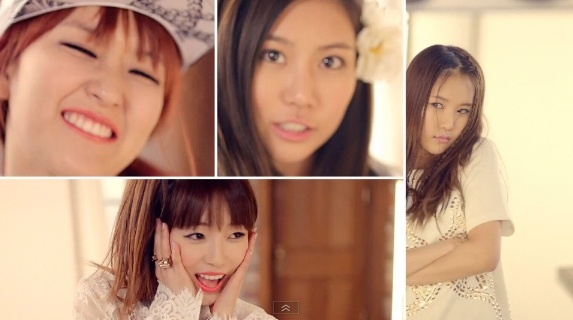 "GLAM releases ""In Front of the Mirror"" MV ~ Latest K-pop News - K-pop News 