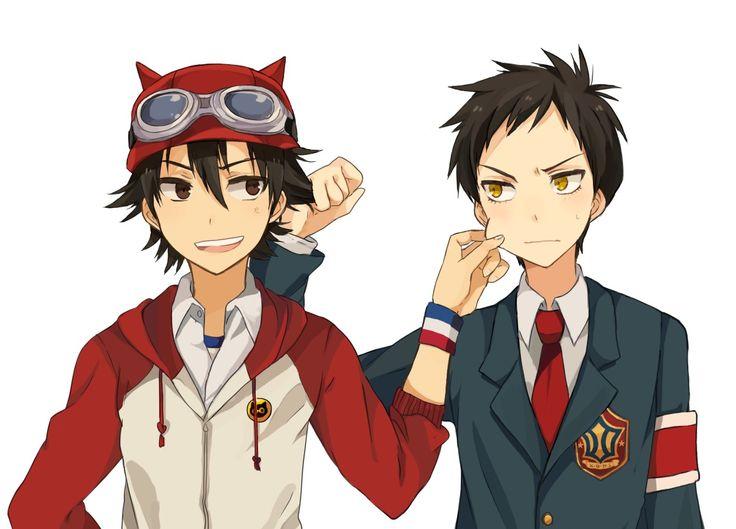 Tags: Fanart, Pixiv, SKET Dance, Fujisaki Yusuke, Tsubaki Sasuke, Tomoyami