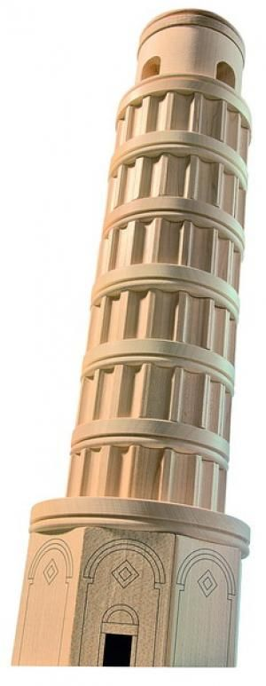 6.32 Leaning Tower of Pisa Builder Set