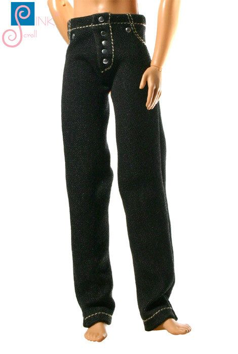 Ken clothes jeans: Kentucky by Pinkscroll on Etsy