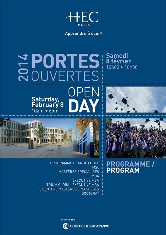 Journée Portes ouvertes 2014 - Open Day HEC Paris
