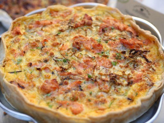 La ricetta della torta salata con salmone - Ricette - Cucina - Marieclaire
