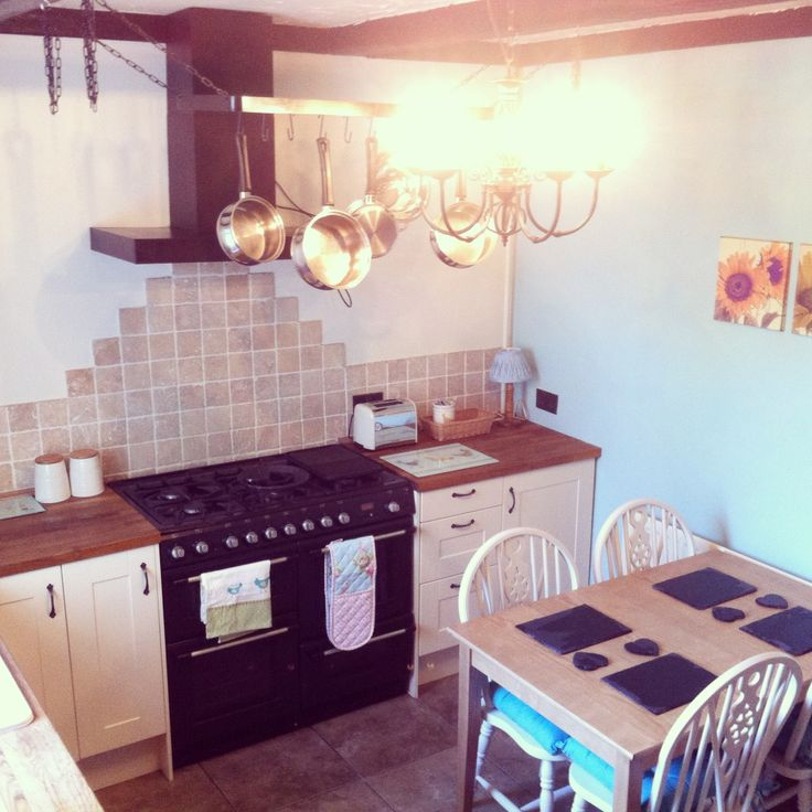 Blue Cottage Kitchen Cabinets: My Little Cottage Kitchen! Duck Egg Blue And Cream Kitchen
