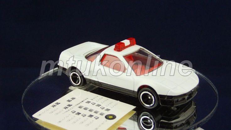 TOMICA 120 HONDA NSX PATROL CAR | JAPAN | 120C-2 | 1997 ST BOX