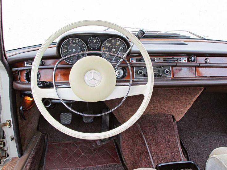 Mercedes 250 S W108 Vergleich Bilder technische Daten Cockpit